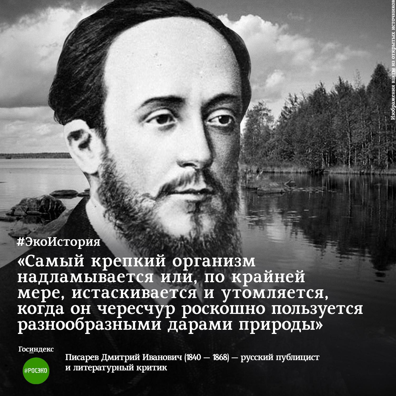 экоистория писарев